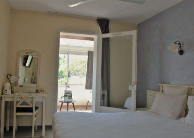 Junior Suite bed view