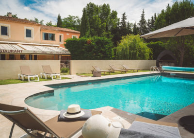 Hôtel avec piscine en provence