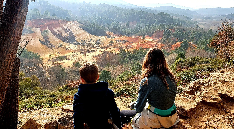 Colorado provencal avec les enfants