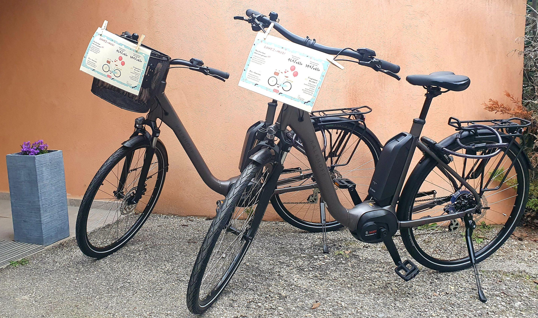 location vélo electrique hotel mas du colombier